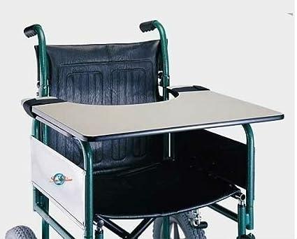Sedie A Rotelle Leggere : Vassoio per sedia a rotelle colore nero da tavolo facile da