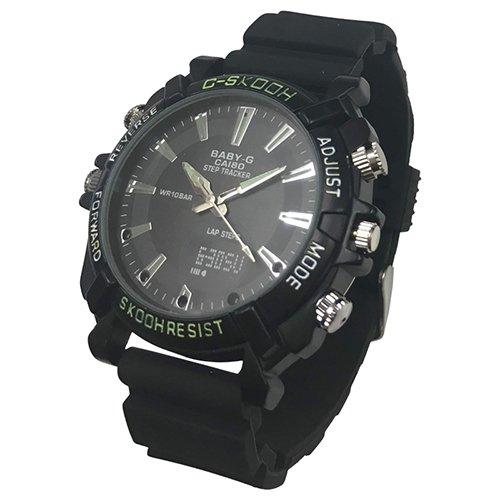 アキバカムオリジナル Wi-Fi対応 フルハイビジョン腕時計型カメラ ABC-CAS10 B07FGX64D3