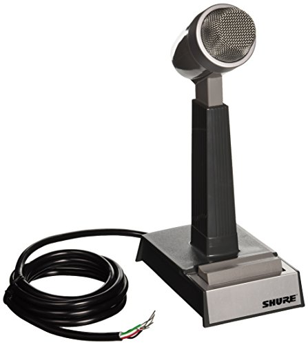 Shure 522 Dual Impedance Cardioid Dynamic Base Station Microphone
