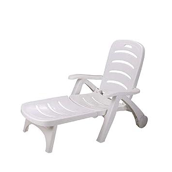 SHUSHI Tumbonas, sillas de Playa, Equipo de Piscina Plegable ...