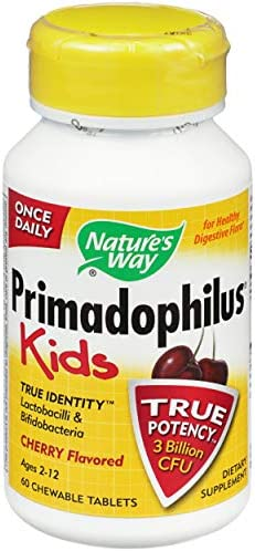 Primadophilus Chewable Cherry Natures Way