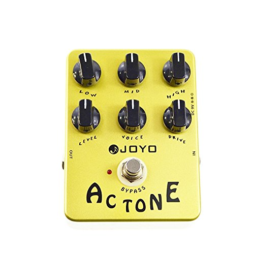 Joyo JF-13 AC Tone Vintage Tube Amplifier effects pedal