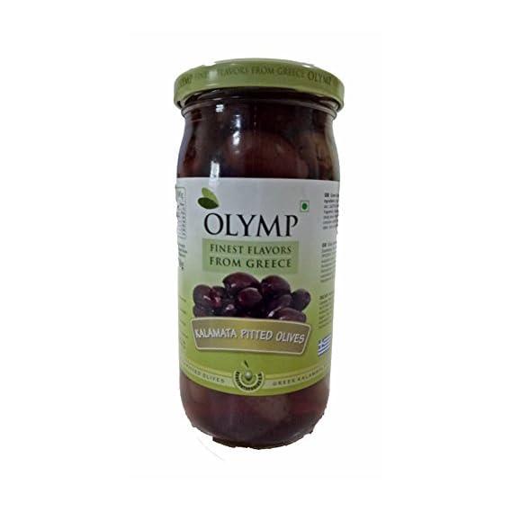 Olymp kalamata pitted olives 360 gms