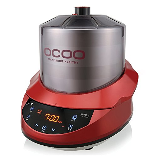 Ocoo Smart OC-S1000 Cooker Herb Extractor All-in-one Cardron Double Boiler Ginseng Cooking Machine Quick English Guide & Free gife(Key Ring) by OCOO (Image #1)