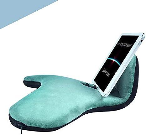 MoneRffi Tablet Holder Cushion Stand Multi-Angle Tablet Cushion Stand Lap Stand Pad Support for Phones Magazines 1 PCS Books