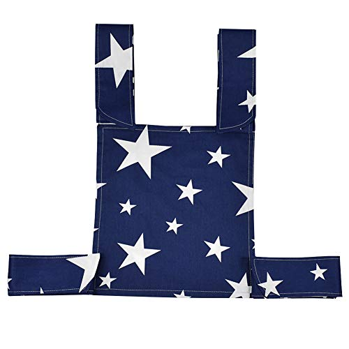 - Maserfaliw Lovely Star Wave Pattern Cotton Mei Tai Sling Backpack Front Back Doll Carrier 3#