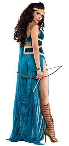 Starline Maiden of The Throne Womens Romper Costume, As Shown, Medium