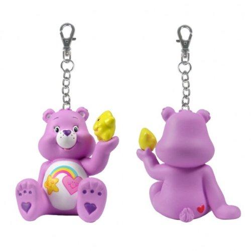 Care Bears Figure: Share A Bear Series 2 - Purple Best Friend Bear with Star Clip