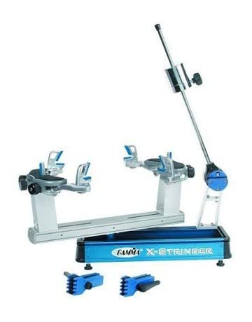 Gamma X-Stringer Tennis Racquet Stringing Machine: Tabletop Racket String Machine with Tools and