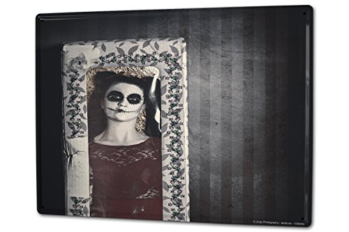 Tin Sign XXL Medieval Picture Frames by LEOTIE