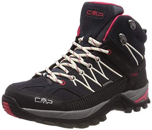 CMP Damen Rigel Mid Wmn Shoe Wp Trekking-& Wanderstiefel, Grau (Antracite-Off White 76uc), 38 EU 1
