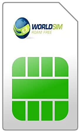 Amazon.com: worldsim tarjeta SIM de prepago + $5 Call ...