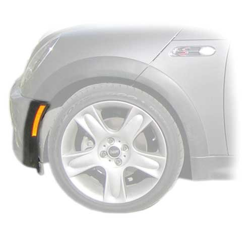 MINI Cooper Wheel Arch Moulding Front Bumper Left-Side - Hatchback (R50) up to 07/04