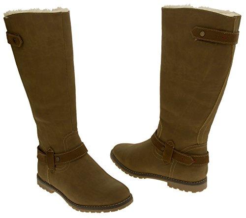 Camel Wool Studio Footwear KEDDO Tall Lined Boots Womens BFqqnR