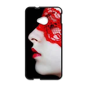glam mysterious woman personalized high quality cell phone case for HTC M7