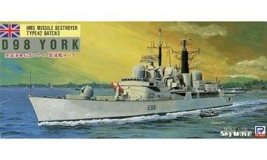 ピットロード 1/700 42型駆逐艦 D98 ヨーク [M-2]