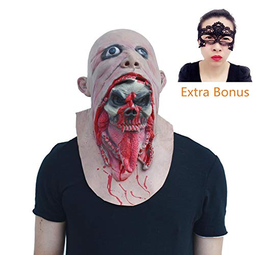 Halloween Party Mask Costume Zombie Mask Scary Evil