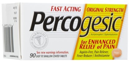 (Percogesic Aspirin-Free Pain Reliever Tablets-90ct (Quantity of 4))