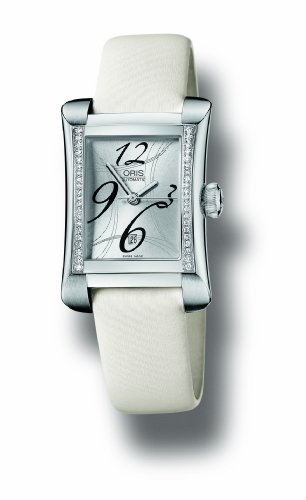 Oris-Womens-561-7621-4961LS-Rectangular-Diamond-With-Date-Watch
