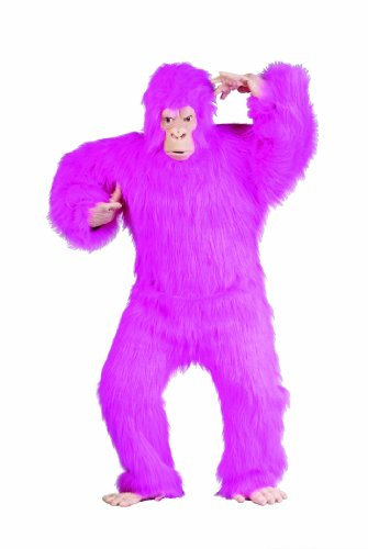 RG Costumes Men's Standard-Size Pink Gorilla, Pink,One Size Fits Most Adults