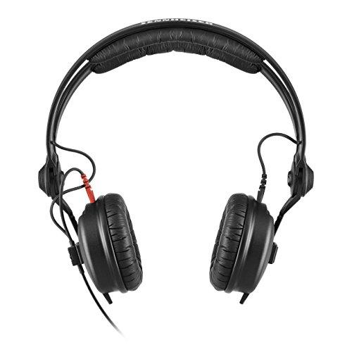 Sennheiser HD 25 Supraaural Diadema Negro – Auriculares (Supraaural, Diadema, 16-22000 Hz, 200 mW, 120 dB, 70 Ω)