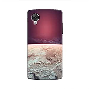 Cover It Up - Red Icecaps Nexus 5 Hard Case