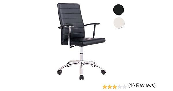 Silla de escritorio para despacho modelo LOOK base ruedas color ...