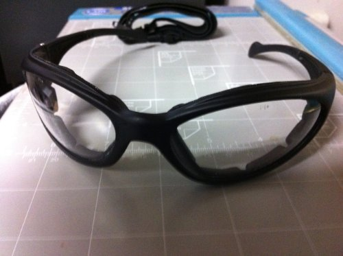 Safety Bifocal Reading Glasses - clear distant vision strong add power