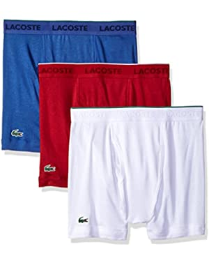 Men's 3-Pack Essentials Cotton Boxer Brief