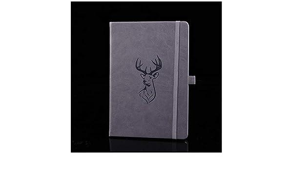 Cuaderno de cuero B5 - Cuaderno de negocios/Bloc de notas ...
