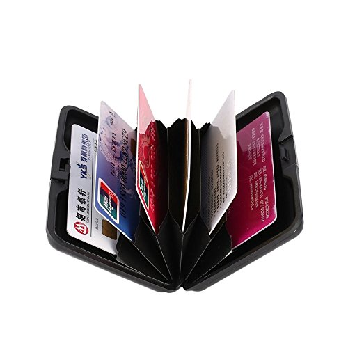 Boîtier en portefeuille de de Dailyinshop imperméable de carte cas en d'affaires de aluminium d'identification métal crédit d4Aqnp