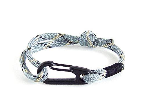 Rock Climbing Rope Bracelet, Men's Paracord Jewelry Gift