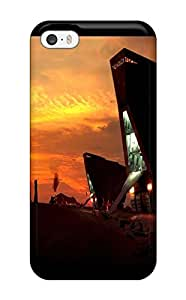 High-quality Durable Protection Case For Iphone 5/5s(star Wars Attack Clones)(3D PC Soft Case)