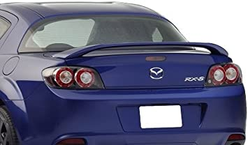 Accent Spoilers 34K Spoiler for a Mazda RX8 Factory Style Spoiler-Crystal White Pearl Paint Code
