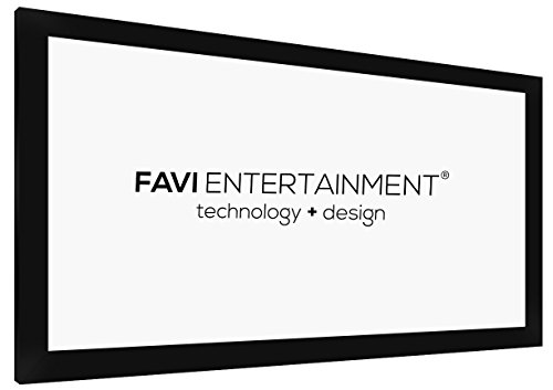 FAVI 135-inch (16:9) Fixed Frame Projection Screen - US V...