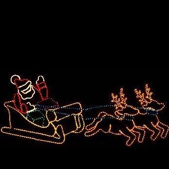 wintergreen lighting outdoor santa decorations santa christmas outdoor lights santa claus yard decorations - Outdoor Christmas Lights Yard Decorations