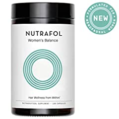 Nutrafol is a physician-formulated, multi-targeted solution for those ready to commit to improving their hair health. Multi-targets key triggers that compromise hair health including stress, DHT, free radicals, and poor nutrition Trusted by 1...