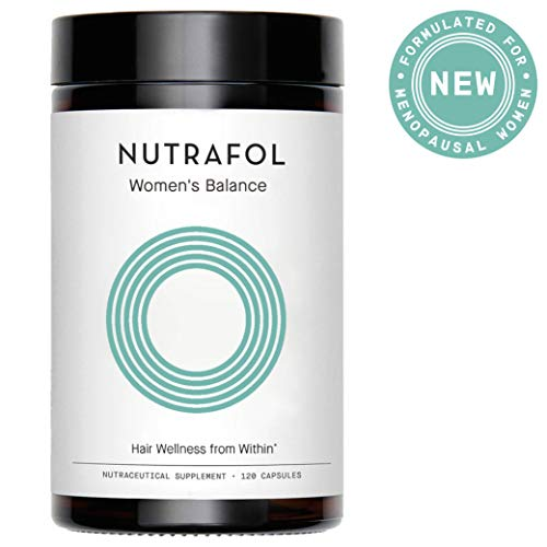 Hair Loss Thinning Supplement - Women Hair Vitamin for Thicker Healthier Hair Growth - Nutrafol Women's Balance for Menopause Support