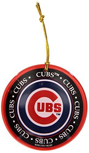 MLB Chicago Cubs Ceramic Plate Ornament ()