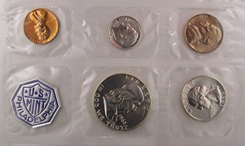 Franklin Mint Annual - 1962 Silver Proof Set