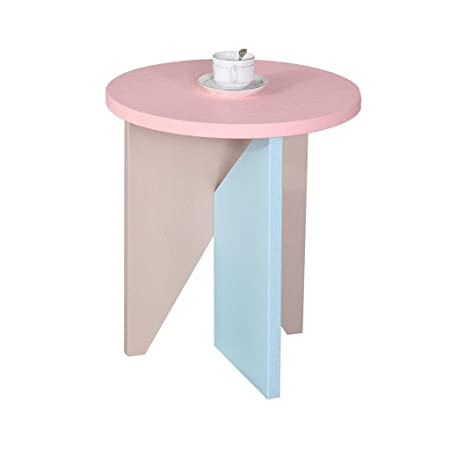 Soggiorno Moderno Con Tavolo In Legno.Tavolino Rotondo In Legno Tavolo Da Pranzo Moderno Con Ripiano