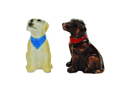 Creative Ceramic Labrador Shakers Multicolor