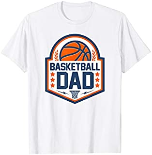 Cool Gift Basketball Dad Basketball Player Gift  Women Long Sleeve Funny Shirt / Navy / S - 5XL