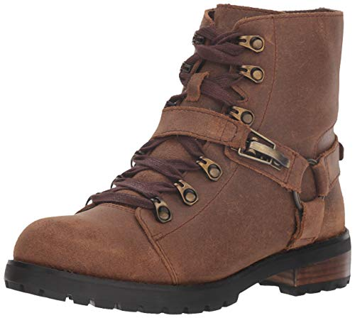UGG Women's W Fritzi LACE-UP Boot Fashion, Chipmunk, 8 M US (Ugg Leather Boots Women)