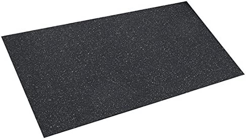 Gummimatte Antivibrationsmatte6 Bautenschutzmatte 6 mm 1,25 m x 2,5 m