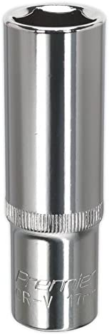 "SP1409D Sealey WallDrive® Socket 9mm Deep 1//4/""Sq Drive Fully Polished"