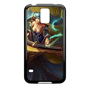 Sona-002 League of Legends LoL For Case Samsung Galaxy S4 I9500 Cover - Plastic Black