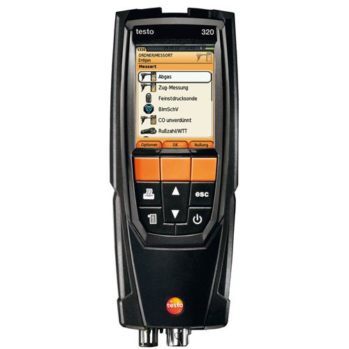 Testo 320 Flue Gas Combustion Analyzer O2 CO ()