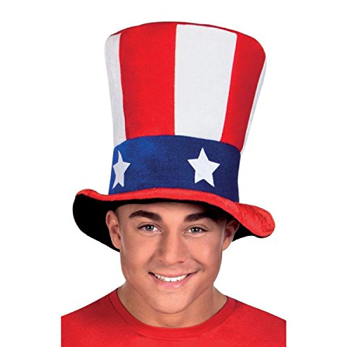 Boland Uncle Sam USA Flag Hat for 4th July, Election & Patriotic Parties & Events