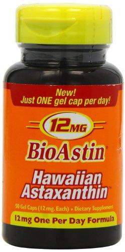 Nutrex Hawaii BioAstin hawaiiens astaxanthine - 12 mg - 50 Gel Caps